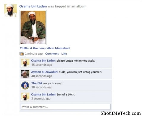 Osama on Facebook