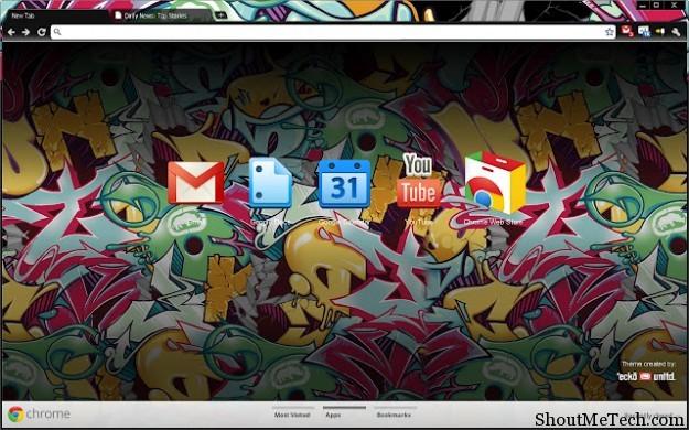 Marc Ecko theme for Chrome