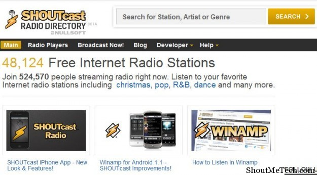 free radio music online radio stations