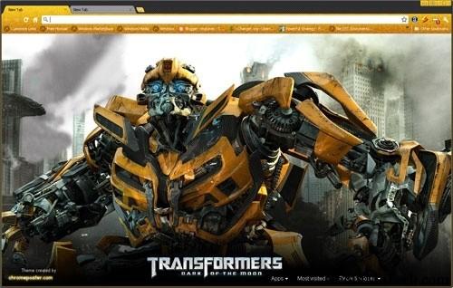 Transformers theme for Chrome