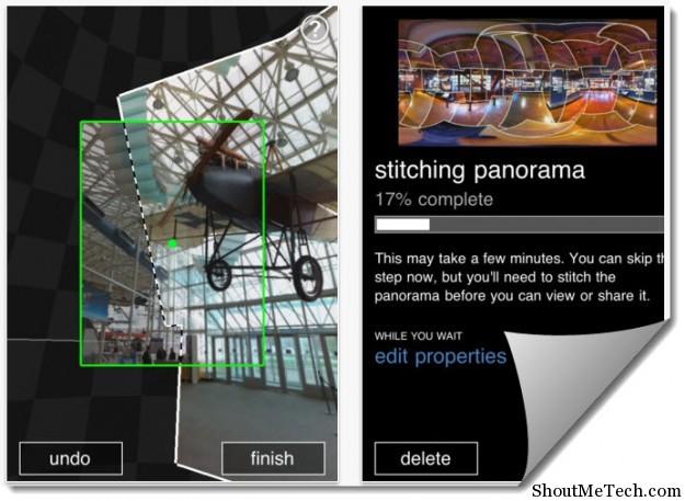 Photosynth iPhone App