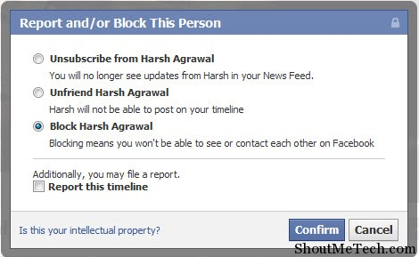 how to open blocked pages on facebook