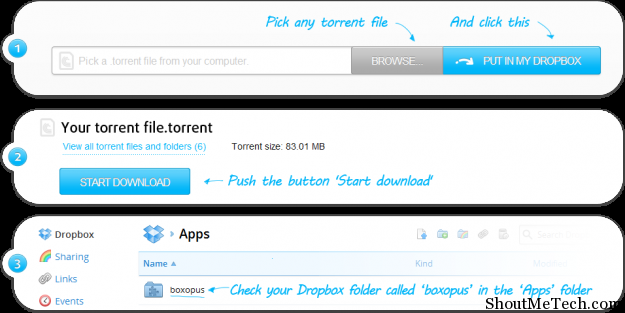 Dropbox torrent downloader