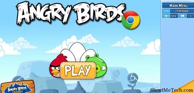 Angry Bird Chrome