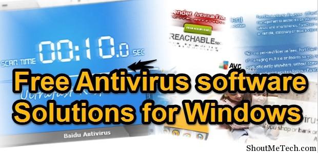 Free Antivirus Software For Window