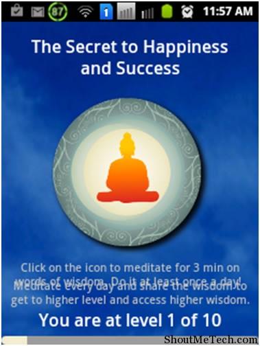 Buddhist Meditation Trainer App