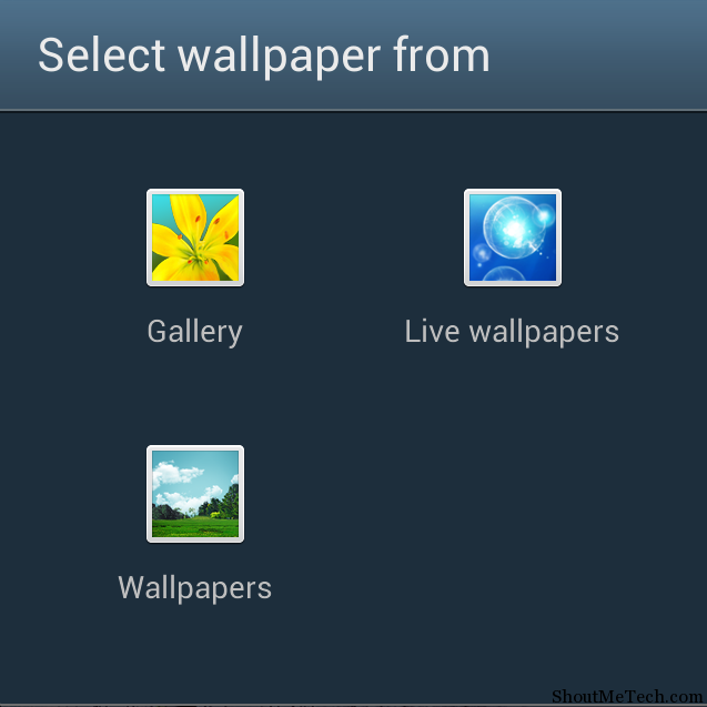 disable Android Live wallpaper