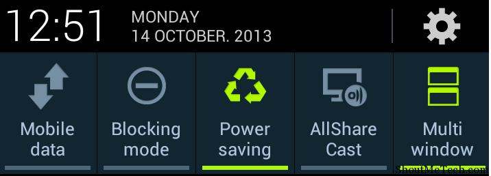 Android power saving