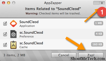 uninstall Mac App