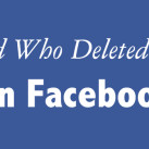 How to Find Who Deleted You On Facebook