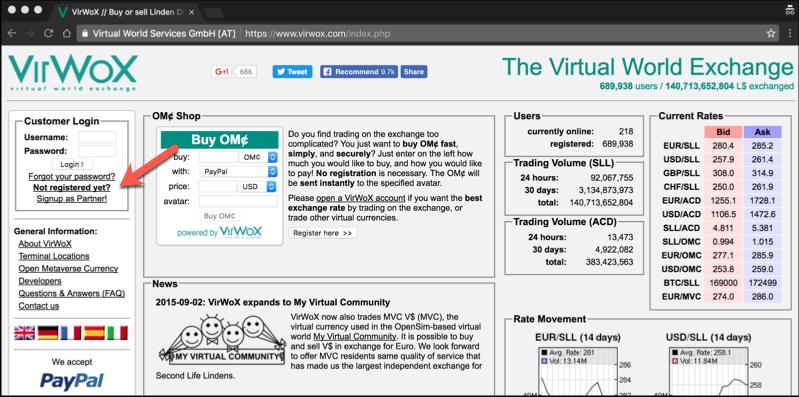 create-virtual-world-exchange-account