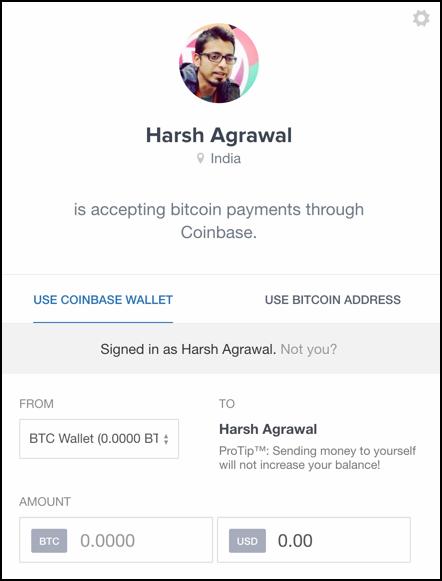 public-bitcoin-profile