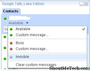 Google Talk Labs
