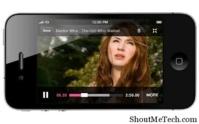 watch tv on iphone