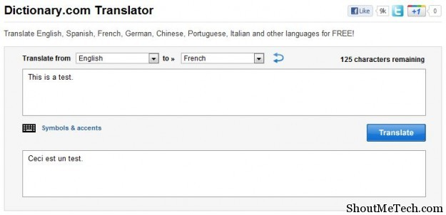 Dictionary Translator