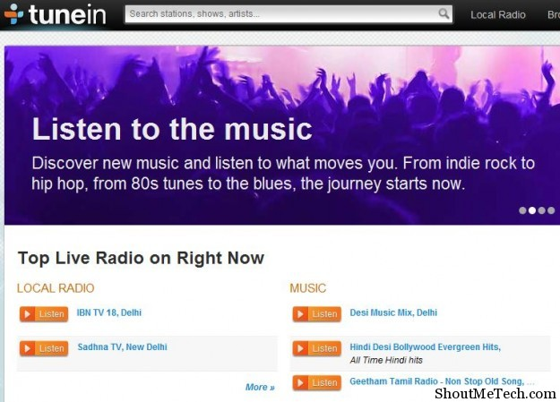best free internet radio stations for streaming music online