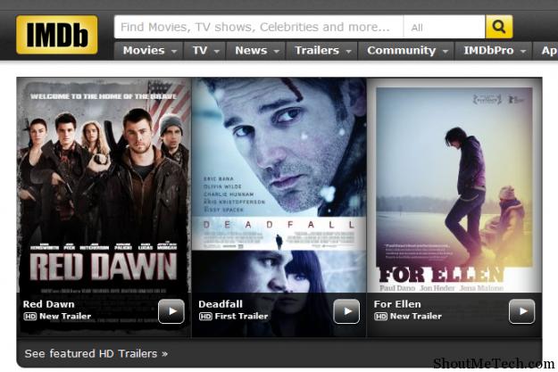 Sites like IMDB