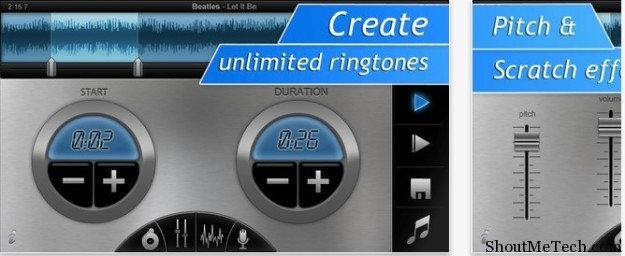 iPhone Ringtone DJ