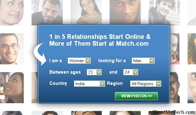 dating website match butikk
