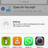 Cómo compartir música y archivos de Video en Whatsapp iPhone