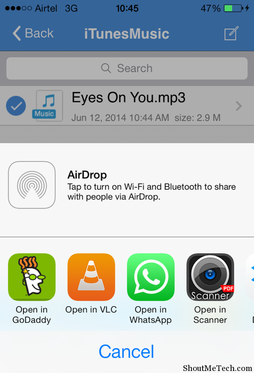 how to share songs on iphone how to and files on whatsapp iphone 1595