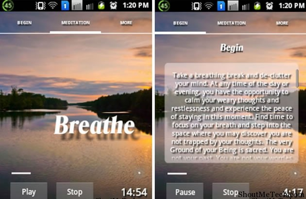 Room to Breathe Meditation App