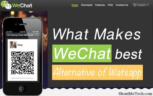 Wechat App Watsapp Alternative