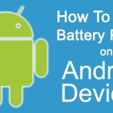 How To Save Battery Power On Android Devices