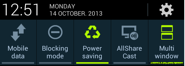Android power saving