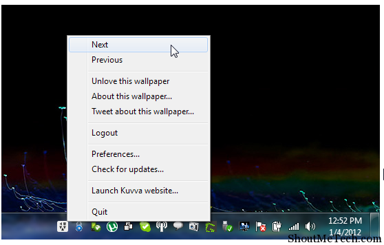 Kuvva windows wallpaper changer