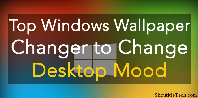 Windows Wallpaper Changer