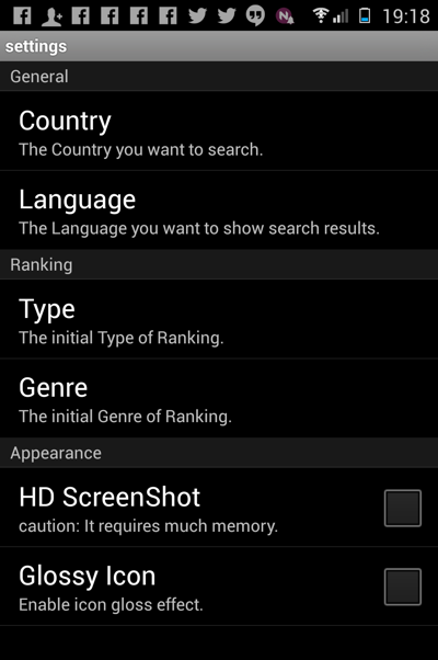 Apple app store on Android