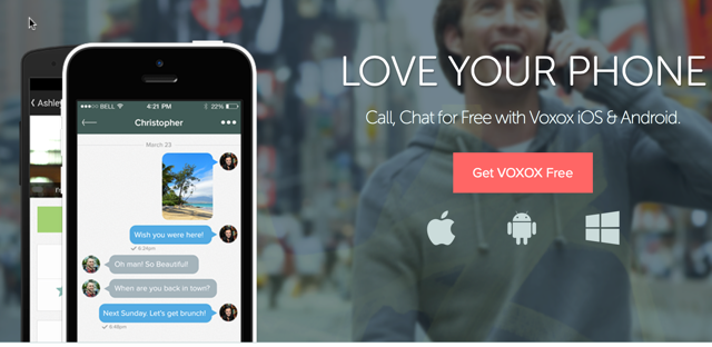 VoxOX - Make VOIP Calls With Number Of Your Choice - Free Credits