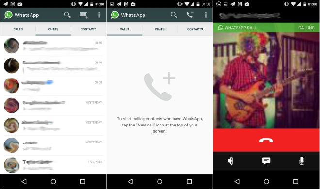 Enable Whatsapp voice calling