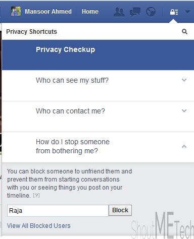 Block Users