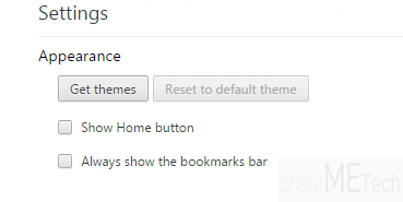 Chrome themes