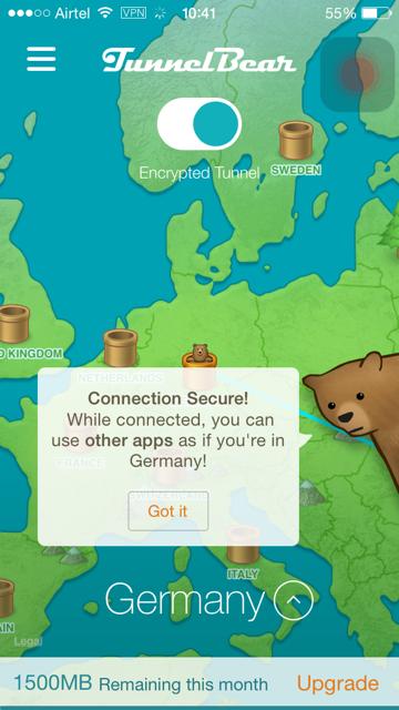 TunnelBear Review - Free VPN for Mac, iOS, Windows & more