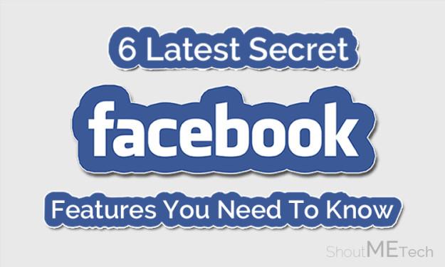 Secret Facebook Features