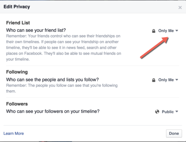 Facebook-Friend-list-Privacy