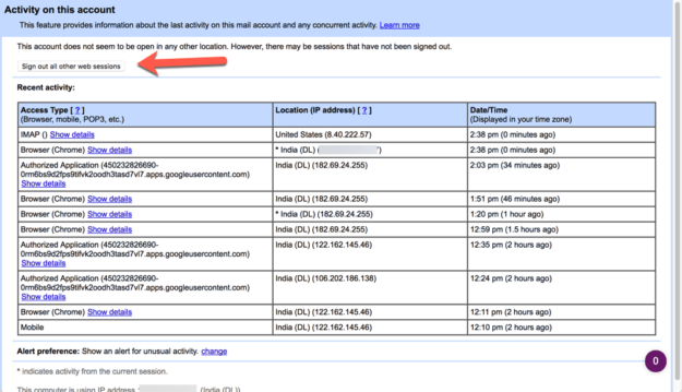 Gmail-last-account-activity-